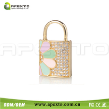 8gb Nice bag shape jewerly usb flash drive with vanilla packing box for weding gift