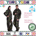 100% Army Camouflage raincoat suit wholesale
