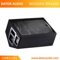 "Experienced in design loudspeaker texture enclosure 12"" 2-way wooden speaker stage monitor 250w wooden speaker box"