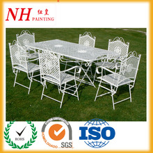 Manufacture Outdoor Metal Furniture Powder Paint