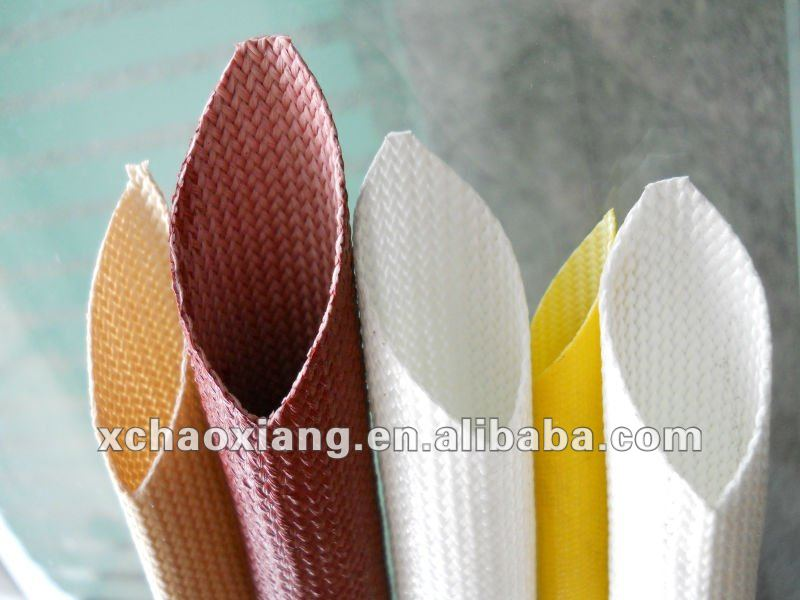 Silicone rubber insulating sleeving