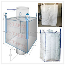 Top fill sprout top option (filling) and 1500 kg loading weight 1000 kg fertilizer chemical jumbo bulk bag