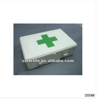 SL-042 wholesale portable first aid kit emergency plastic tool box large compartment