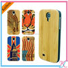 Promotion Fashion logo print Wood cell phone case