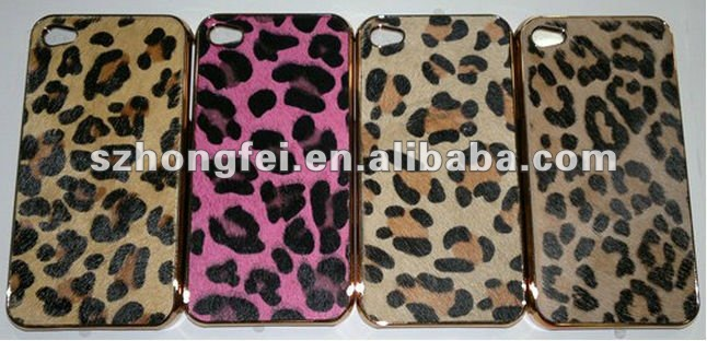 LEOPARD Deluxe COLLECTIBLE Covers for iPhone4G/4S