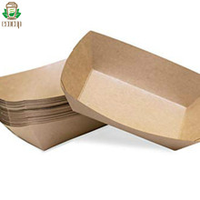 eco-friendly alternative to traditional <strong>paper</strong> food trayspaper street food packaging food tray plate box