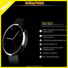 Smart Watch, Sports Watche, Smartwatch and WristWatch DM360 for IOS Android