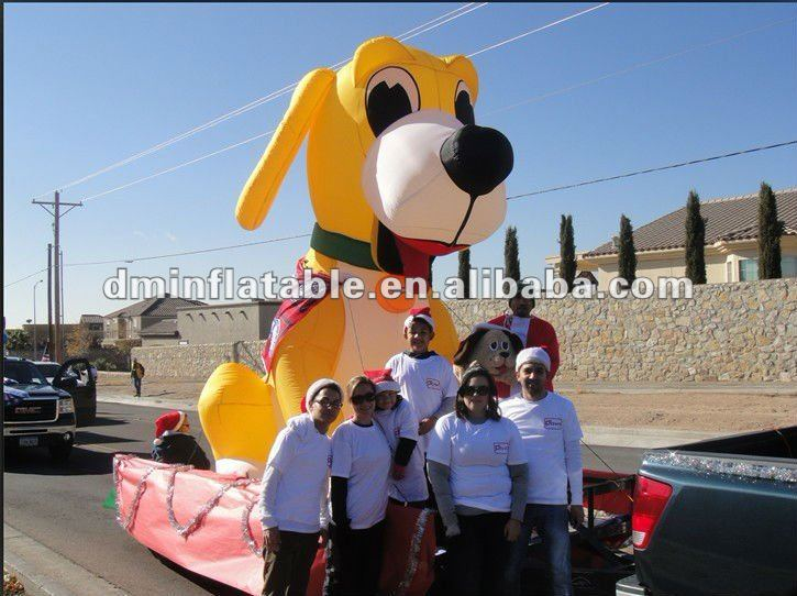 2012 promotional advertising inflatable dog