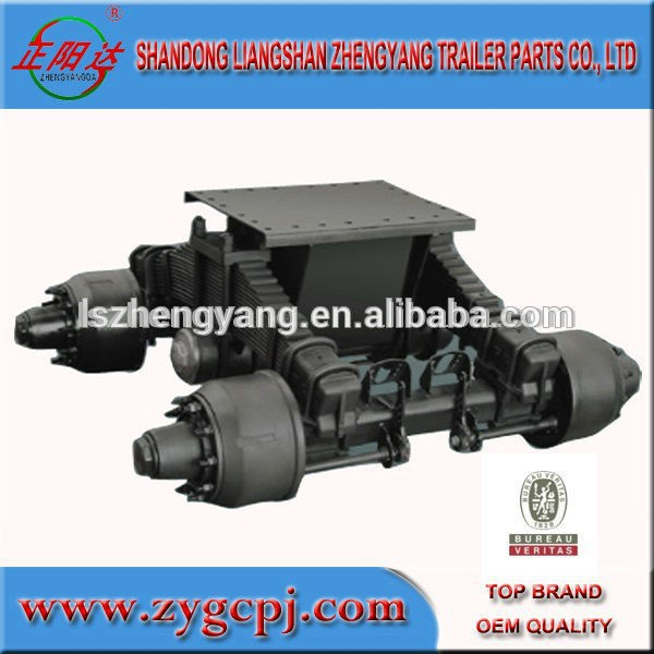 Single point suspension suspension trailer parts/arm/hanger/plate/u-bolt