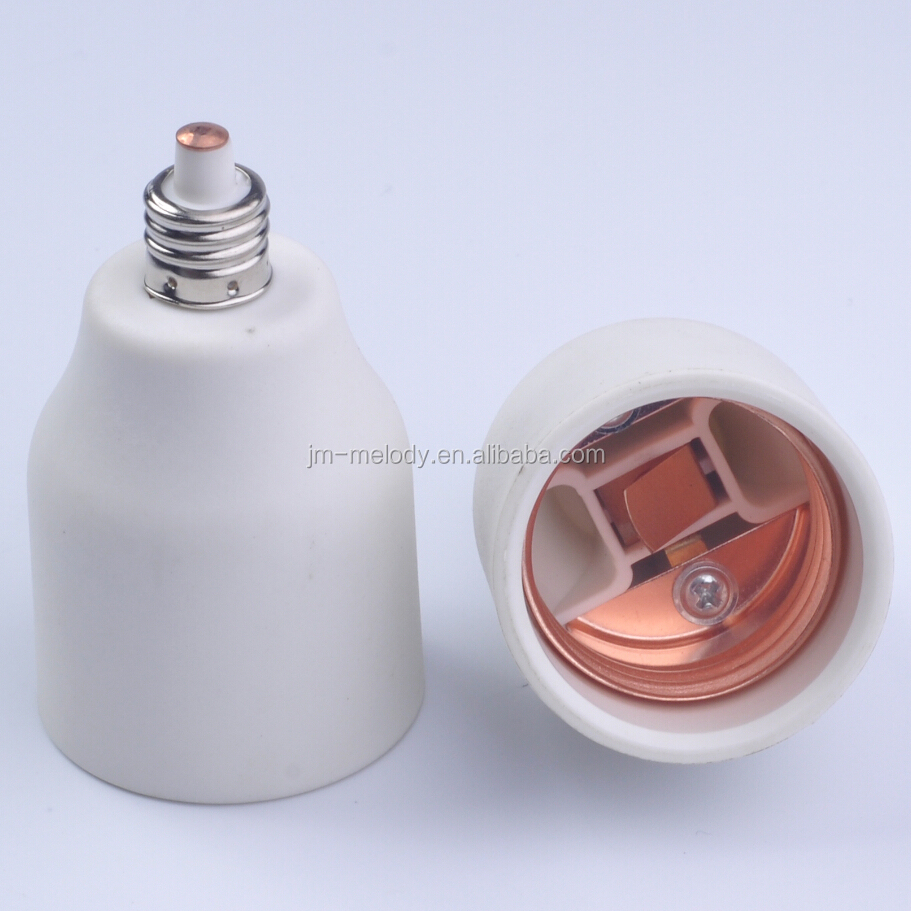 Exclusive production E14 TO E26 adapter E14 to E27 adapter adaptor lampholder base converter socket