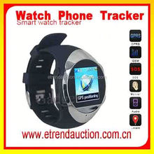 Child Watch Cell Phone Quadband Cell Phone Watch GPS Tracker