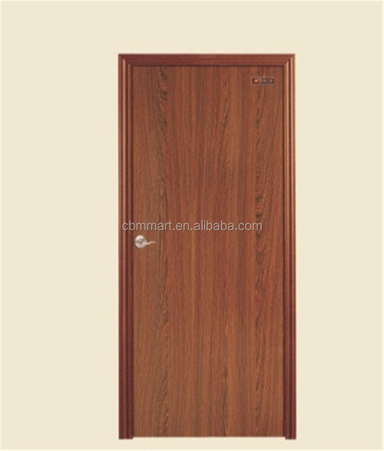 China top supplier cheap price pvc film wooden door