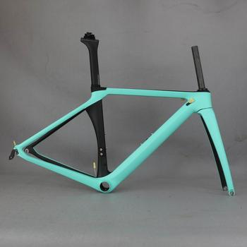 T800 Carbon Fiber frame With TAIWAN Carbon ,di2 carbon aero road frame from China TT-X1