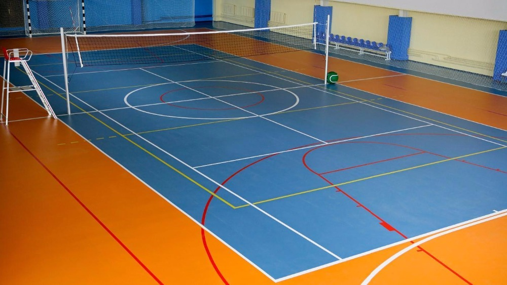 Wholesale outdoor portable volleyball court sports flooring