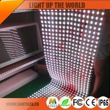 Shenzhen 2016 new products led mesh screen P25 outdoor advertising led display board prices flexible led curtain screen lightS