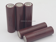 vape akku 18650 battery original lg hg2 18650 3000mah battery 3.6v li-ion rechargeable hg2 20a flat top battery