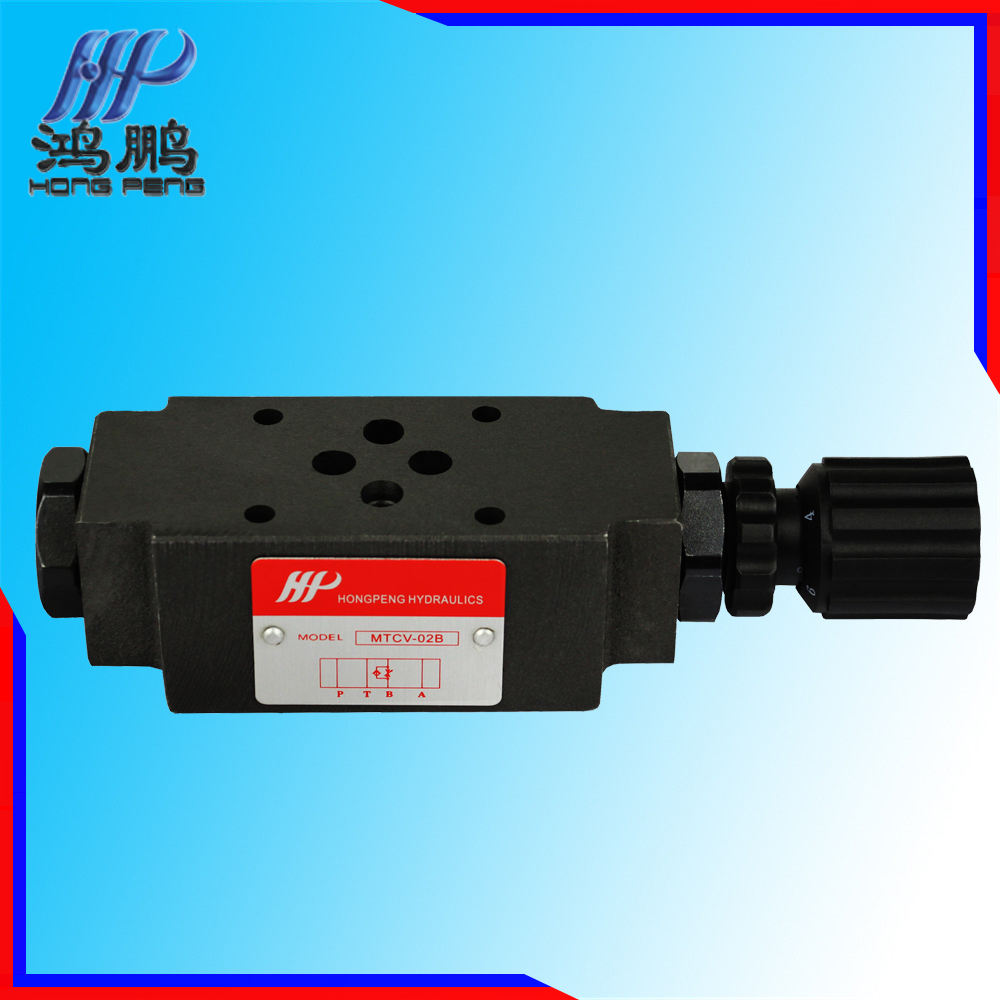 Enhance overall system reliability MTCV-02B hydraulic valve block