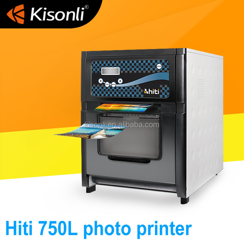 Most Favorable 1000 Paper Rolls Storage Best Hiti P750L Thermal Printer For Photobooth Vending Machine