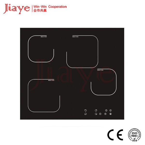 Electromagnetic heating 4 burner induction cooker/Built in 60cm induction stove hob JY-ID4005