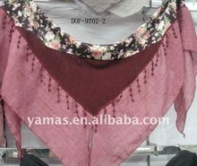 Fashion lace trigonal new scarf