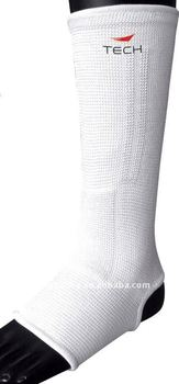 Extended knitted ankle support