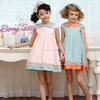 girl party wear western dress,wholesale children's boutique clothing, girl clothing