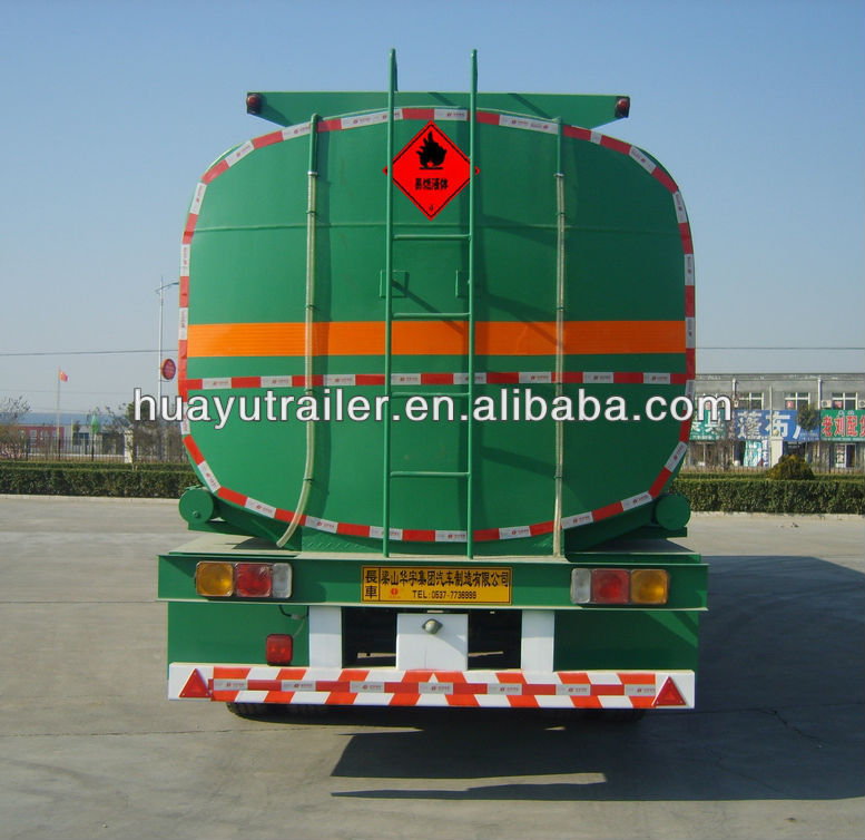 Fuel tank semi trailer truck on sale