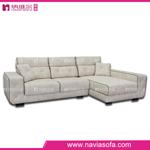 2016 Shunde furniture corner lounge couch design fabric modern sofa for tv room
