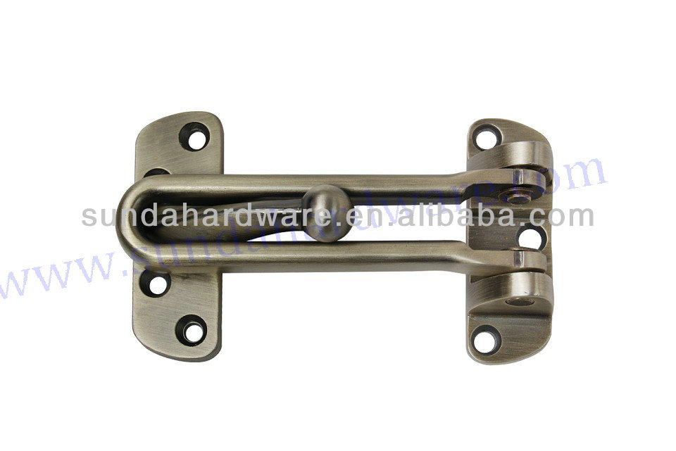 Hot sale zinc door latch guard with high quality