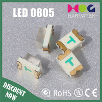 0805 LED Encapsulation Series Red 140mcd
