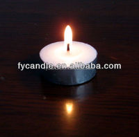 lead free natural candles tea light candles