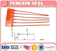 Universal hot product flexible plastic seal