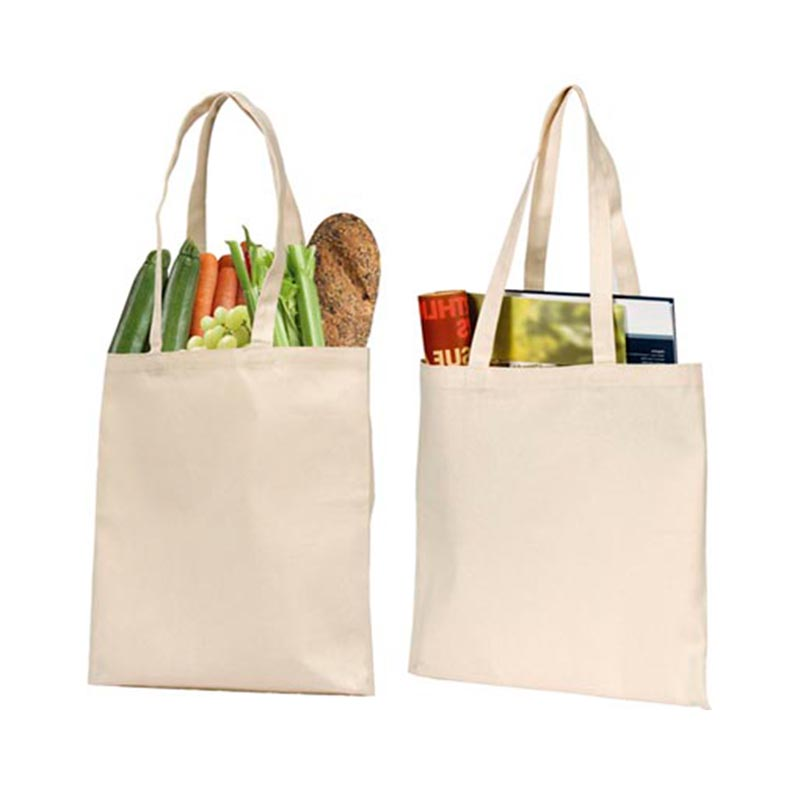 Eco-friendly recycled cheap promotion wholesale custom blank cotton tote bag100% cotton canvas bag
