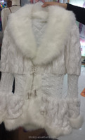 BHNLCOT15091323 New fashon winter jacket ladies long fur collar