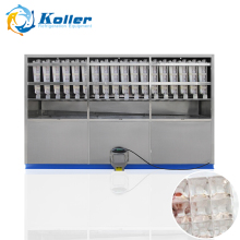 Koller 5 Tons Stainless Steel Ice Cube Machine With Semi-Automatic Packing System (CV5000)
