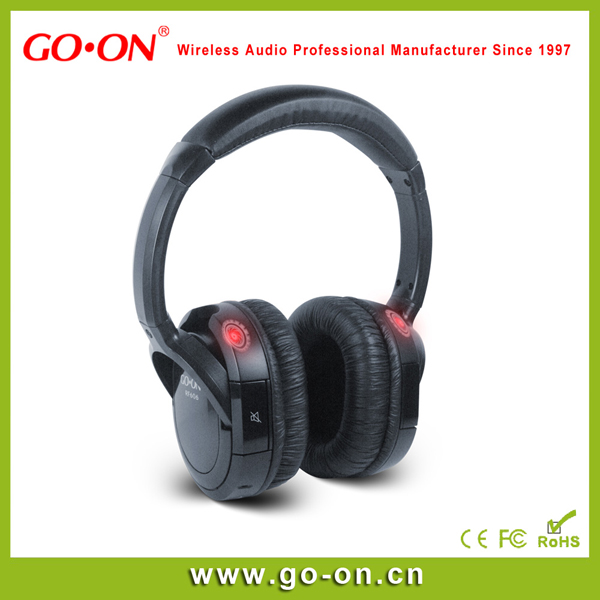 RF-608 RF Wireless Silent Disco Headphone 3 Channel
