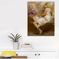 Digital Canvas Print Sexy Girl Posters Wall Art Painting For Home Decoration