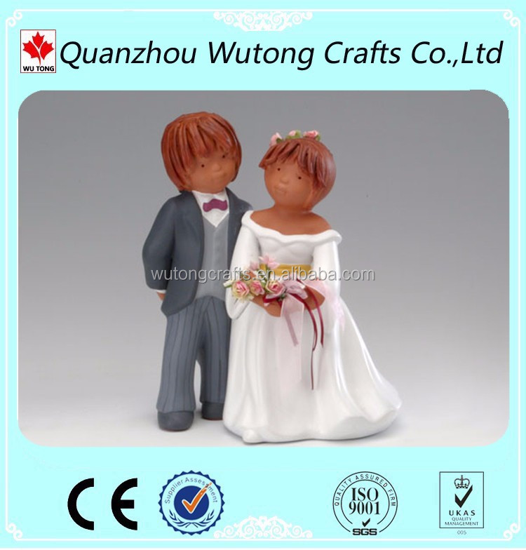 Custom Wedding Cake Toppers Decoration Funny Figurine