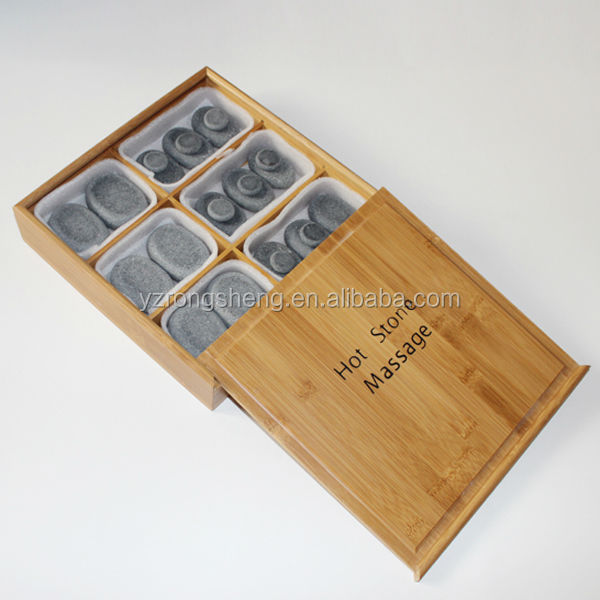 wholesale thermal beauty health home use back hot stone massage