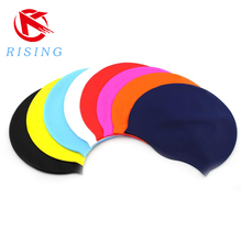 Customized logo promotional silicone swiming cap
