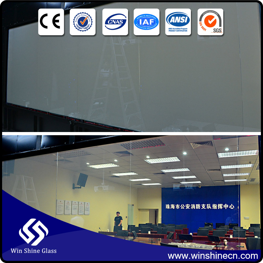 Transparent electronic film/smart film for window glass----smart glass projection film