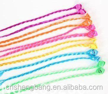 hot sale grip clip in synthetic braid for kids 12inch,2g ,variouty color clip in hair extensions for children