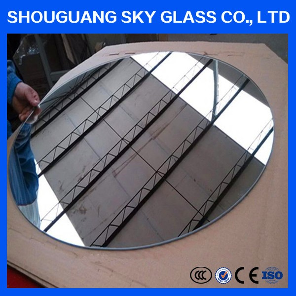 3mm All kinds of specifications full length silver mirror with Frame, veneer