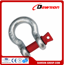 Qingdao manufacture bolts and nuts screw pin bow shackle