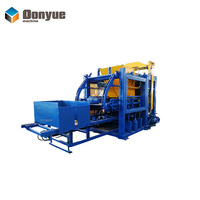 Popular QT4-25 fully automatic fly ash brick making machine hydraulic