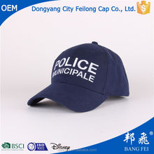 Heavy Brush Cotton With Big Embroidery Logo Design Baseball Cap Have Velcro Closure