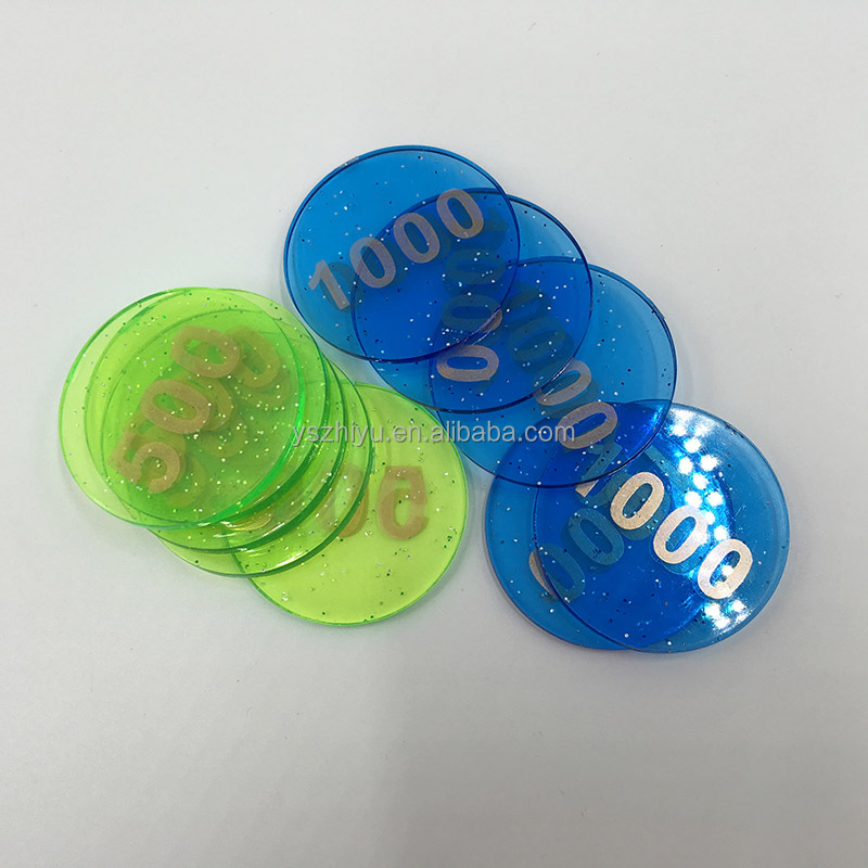 2016 Cheap Plastic Casino Poker Chip Casino Supply Coins Gambling Chip