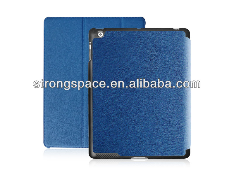for ipad 2/3/4 with auto sleep wake function leather case