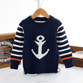 2T 3T 4T 5T 6T baby kids outfit pretty children small and middle aged anchor boys pullover winter sweater models