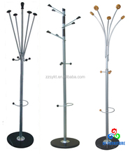 Metal clothes stands hall tree clothing racks wholesale